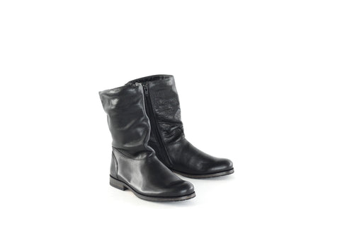 Royal Republiq Women's Shoes Royal Republiq Boots Ave Cross EQ Mid | BLACK