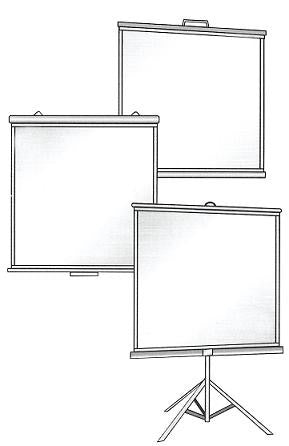 Projection Screen 36 x 48""