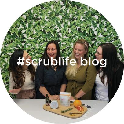 Scrub Inspired all natural skin care blog