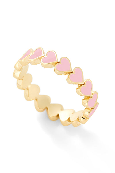 Heart Stack Ring