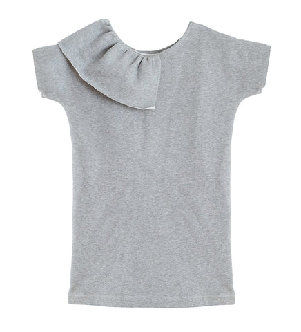 VON SONO KIDS DOUBLE DRESS IN GREY