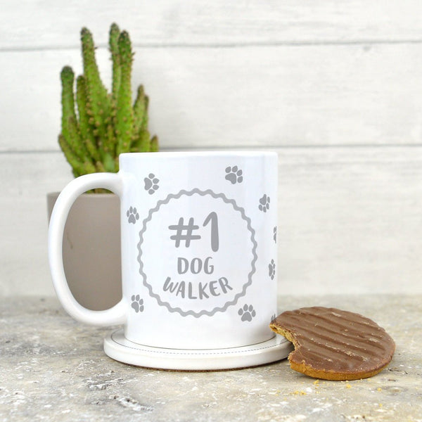 Dog walker mug, gift for dog walker, dog walker present