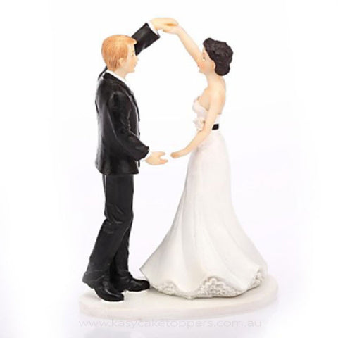 """Let's Dance"" Wedding Cake Topper"