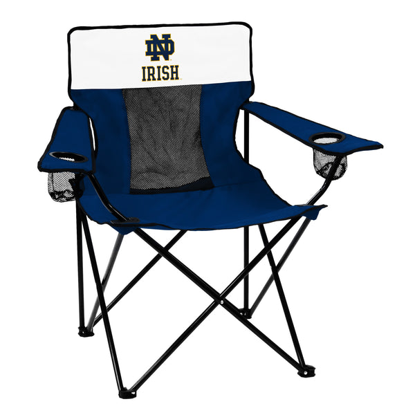 Notre-Dame-Navy/White-Elite-Chair