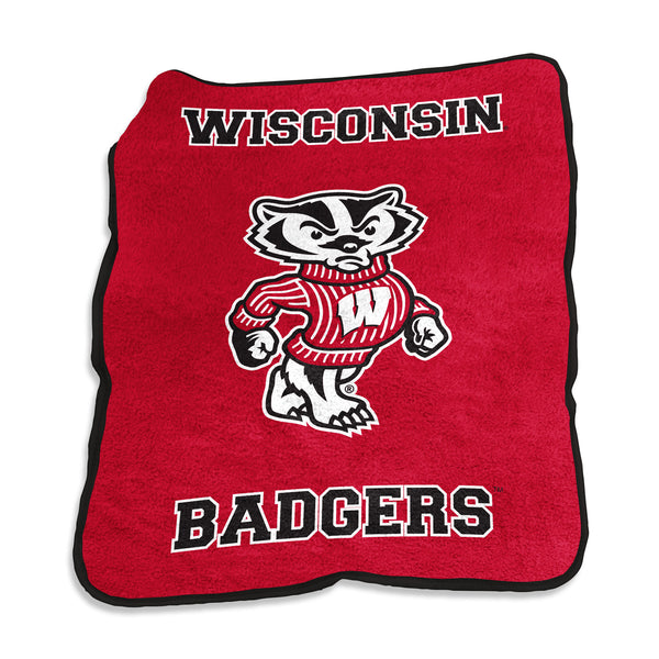 Wisconsin-Mascot-Throw