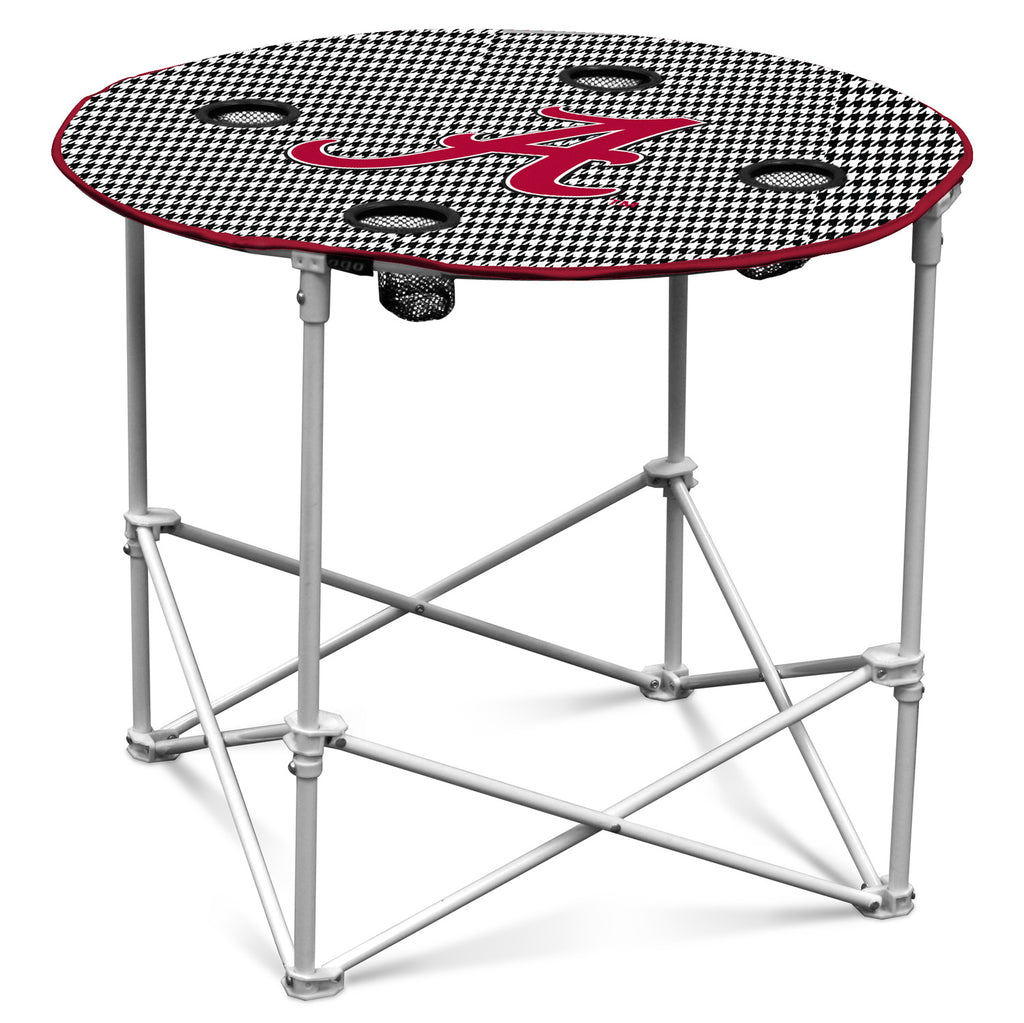 Alabama-Houndstooth-Round-Table