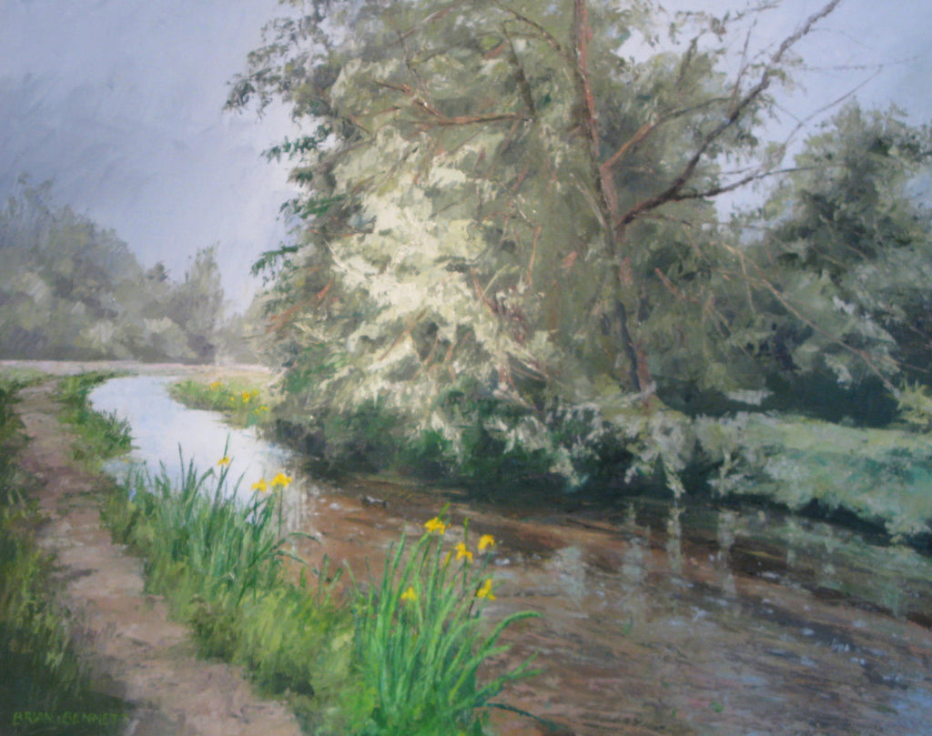River Chess - Oil by Brian Bennett PPROI