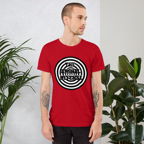 t shirt vegan hypnose homme rouge