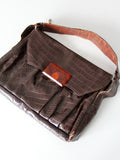 vintage 30s leather purse