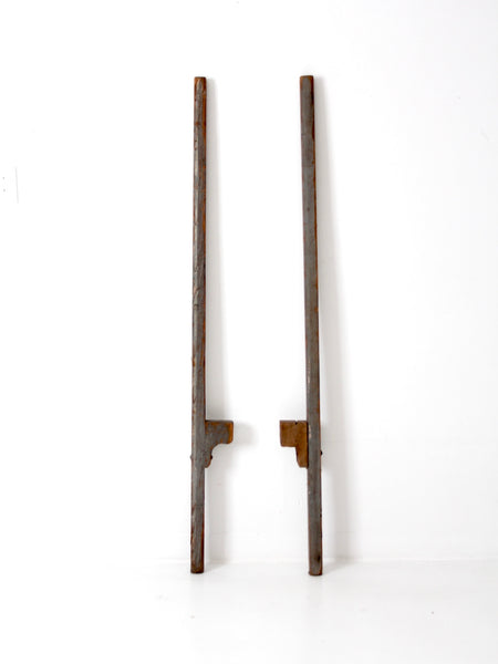 primitive wooden stilts