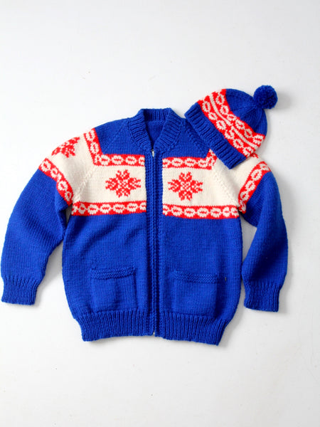 vintage Greek fisherman sweater