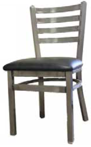 Clear Coat Ladderback Dining Chair