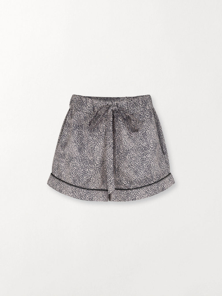 Becksöndergaard, Animal Tolie Shorts - Beige, clothing, clothing
