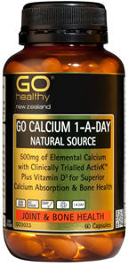 GO Calcium 1aDay Nat Source 60caps