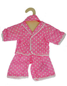 EGL Doll P J's Pink and White