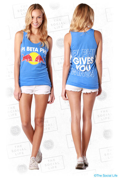 """Gives you Wings"" Tank"