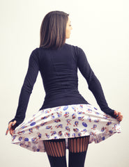 Sonic the Hedgehog Skater Skirt by Maya Pixelskaya