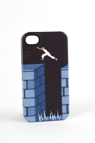 Jumping Prince of Persia case for iPhone 4/4s by Maya Pixelskaya