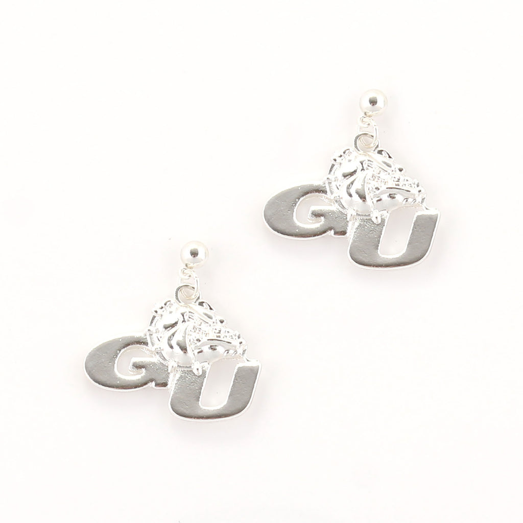 Gonzaga Logo Earrings