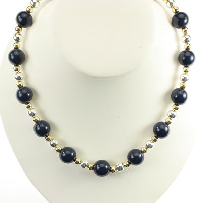Seasons Jewelry Michigan Beaded Stretch Necklace