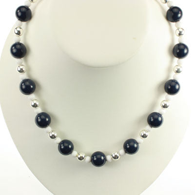 Seasons Jewelry Penn State Beaded Stretch Necklace