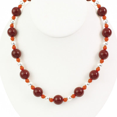 Seasons Jewelry Virginia Tech Beaded Stretch Necklace