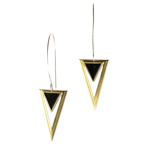 Desert Varnish Earrings