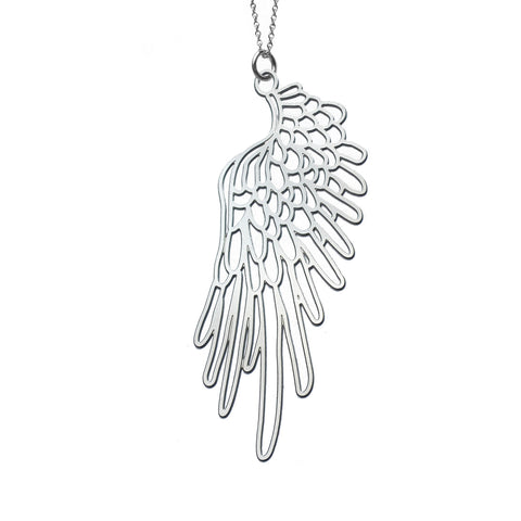 Small Wings #3 Pendant Necklace