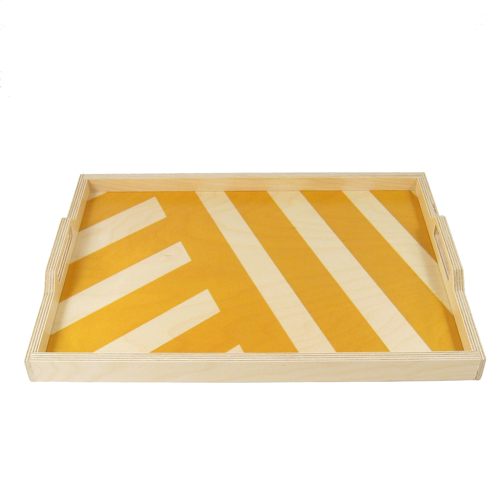 Stripe Serving Tray