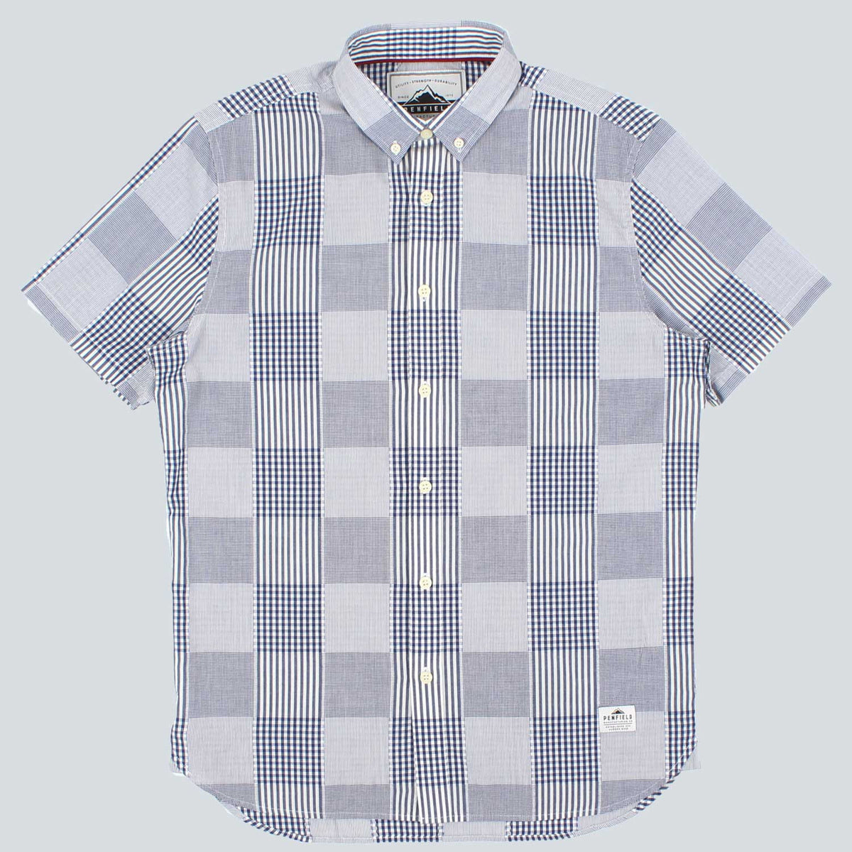 PENFIELD - PENROSE CHECK SHIRT - BLUE