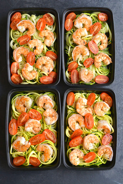 Meal Prep Shrimp & Zucchini Noodles
