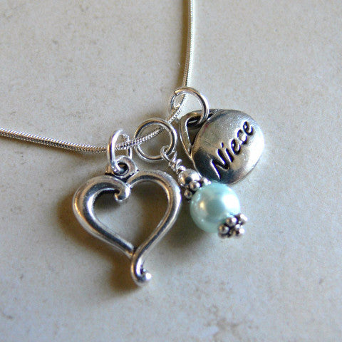 Special Niece Charm Necklace