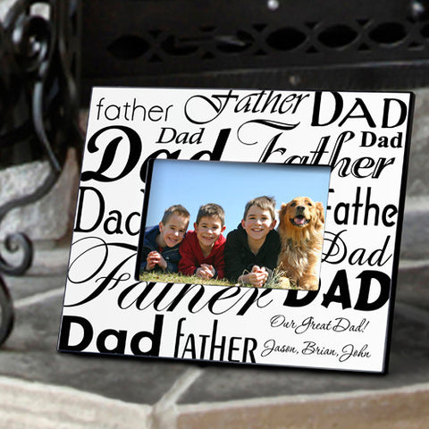 Personalized Dad/Father Frame