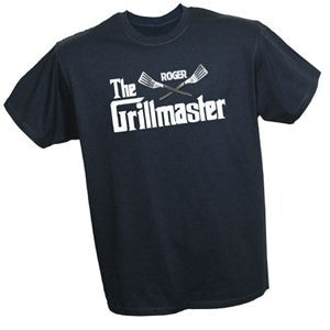 Personalized Grillmaster T-Shirt