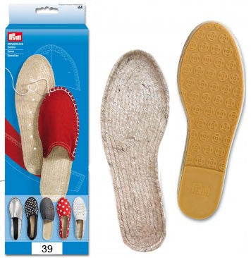 Make your own Espadrilles - Soles (Childrens sizes)