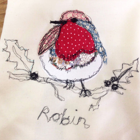 Learn Free-Machine Embroidery (The Makery, Bath)
