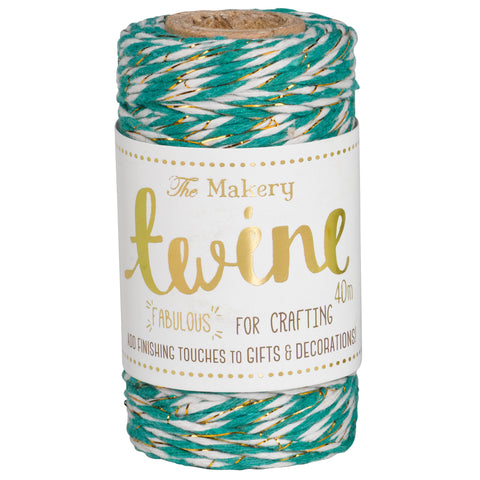 Twine: Spearmint & Gold