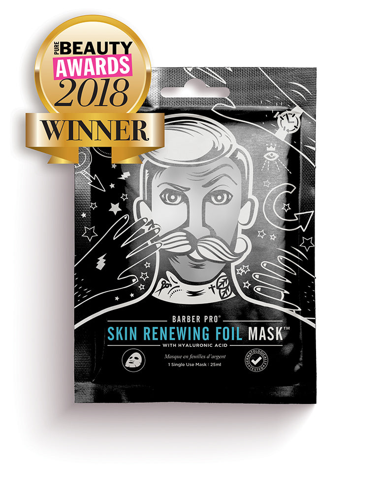 Pure Beauty Awards WINNER! Best New Male Skin & Body Care Product
