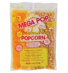 6 oz. Naks Paks Mega Pop Coconut Oil CS/36 - $32.95, Popcorn Supplies, Cromers Pnuts, LLC - Cromers Pnuts, LLC