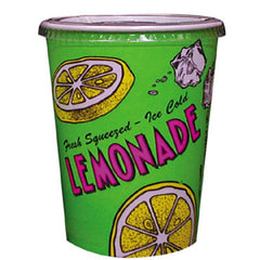 32-oz Lemonade Special Print Disposable Cups (480/Case), Snack Bar Supplies, Cromers Pnuts, LLC - Cromers Pnuts, LLC