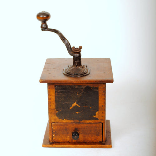 Antique Coffee Mill HD221
