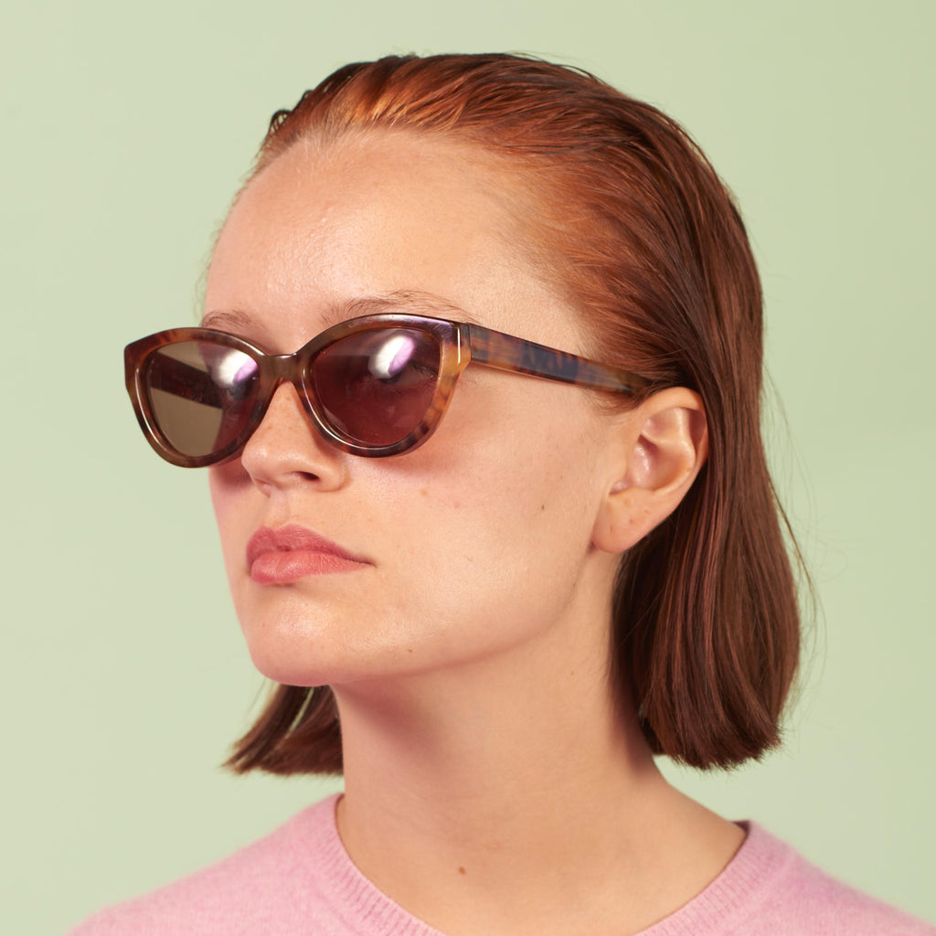 Vintage 90s Cutler and Gross Cat Eye Sunglasses
