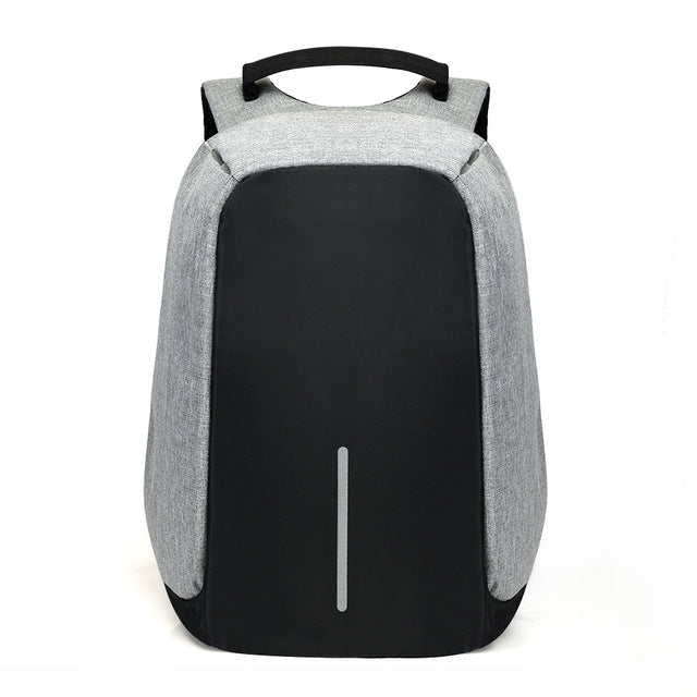 15 inch Laptop Backpack USB Charging Anti Theft Backpack Men Travel Backpack Waterproof School Bag Male Mochila - XenoStudio