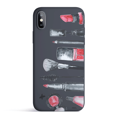 Glam - Colored Candy Matte TPU iPhone Case Cover - Milkyway Cases -  iPhone - Samsung - Clear Cut Silicone Phone Case Cover