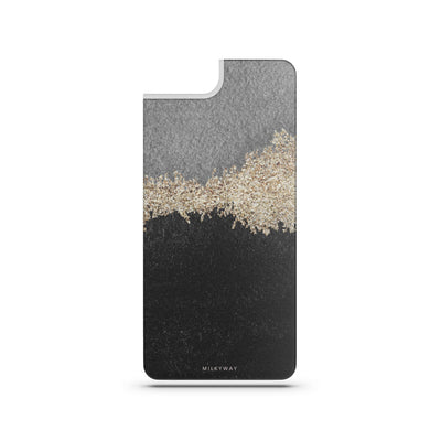 Solstice - Slate Backplate - Milkyway Cases -  iPhone - Samsung - Clear Cut Silicone Phone Case Cover