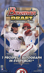 2015 Bowman Draft Picks & Prospects Baseball Hobby Box
