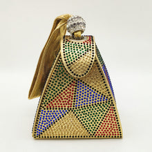 Load image into Gallery viewer, Vintage Diamond Mini Clutch