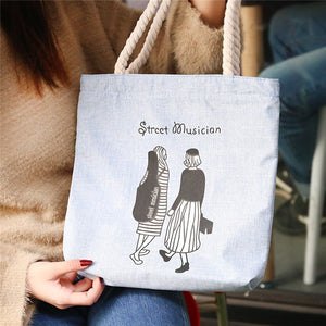 Canvas Printed Tote