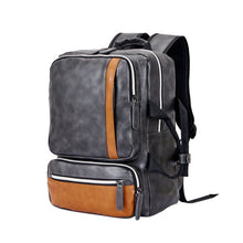 Load image into Gallery viewer, Leather Vintage Casual Backpack