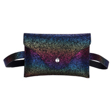 Load image into Gallery viewer, Sequins Patchwork Waist Bag